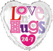 LOVE AND HUGS BALLOOON
